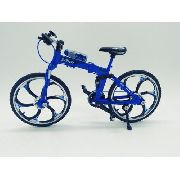 Miniatura Bicicleta Moutain Bike Mini Azul Aero