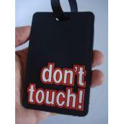 Chaveiro Para Identificação De Malas Dont Touch Etiqueta