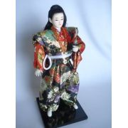 Miniatura Samurai Guerreiro Japones Oriental Kimono