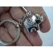 Chaveiro Elefante Metal