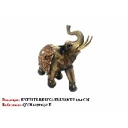 Enfeite Resina Elefante 18cm Decoração 0638-e