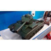 Mini Tanque Canhão Metal Enfeite Decoração Coleção Guerra