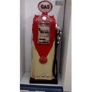 Cofre Resina Bomba De Gasolina Miniatura Vintage Retro