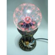 Globo De Plasma Cupido Casal Sphere Bola Cristal Anjo