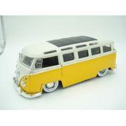 Carrinho Metal Kombi 1962 Volkswagen Big Time Bus