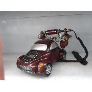 Telefone De Mesa Carro Esporte Retro Vintage