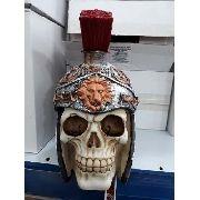 Cofre Cranio Caveira Guerreira Soldado Romano