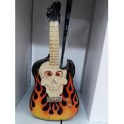 Cofre Resina Guitarra Vintage Retro