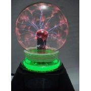 Globo De Plasma 220v Pequeno Sphere Bola Cristal