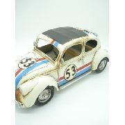 Fusca Metal Decoração Herbie 53