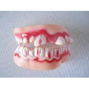 Dentes Mumia Monstro Haloween Silicone Para Adulto Ydh8737