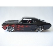 Carrinho Metal Chevy Chevelle Ss 1969 Muscle Car Big Time
