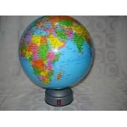 Globo De Mesa Giratório Mapa Mundi
