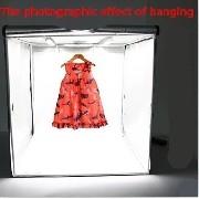 Mini Estúdio Fotográfico 40cm Portátil Iluminação Led Foto