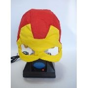Mascara Homem De Ferro Vingadores Tecido Fantasia Haloween