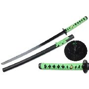 Espada Biohazard Samurai Sword Zumbi Killer Green Mod Sf3024