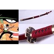 Katana One Piece Sandai Kitesu Vermelha Promoção