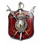 Enfeite Decorativo Medieval Brasão De Parede1227