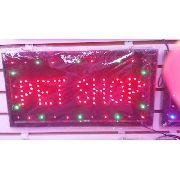 Letreiro Luminoso Placa De Led Pet Shop