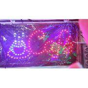 Letreiro Luminoso Placa De Led Cafe
