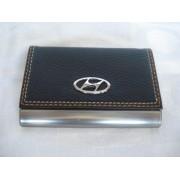 Porta Cartão De Visitas Hyundai Inox