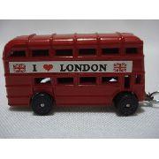 Chaveiro Onibus Londres Dois Andares Londrino Vintage