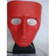 Mascara Sem Face Cs Paintball Vermelha Carnaval Festa