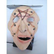 Mascara Full Face Homem Queimado Burn Star Haloween Fantasia