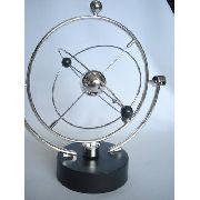 Pêndulo Cinético Móbile Giratório Cosmos Perpetual Giratório