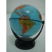 Globo Terrestre Gira Planisferio Escolar Mapa Atlas Planeta