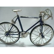 Bicicleta Miniatura Bike Mini Azul Escuro