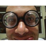 Óculos Maluco Fundo De Garrafa Fantasia Pegadinha
