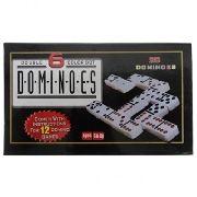 Domino Duplo Com 6 Pontos Colorido