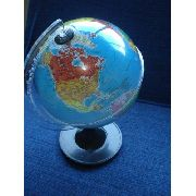 Globo Terrestre 21cm Planisferio Escolar Mapa Atlas