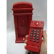 Telefone Cabine Londres Com Abajur Retro Vintage