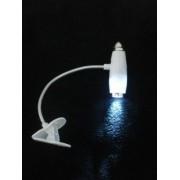 Lanterna Luminaria Clip Led Leitura Noturna FRETE GRÁTIS