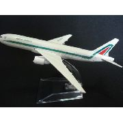 Avião Alitalia Jato Miniatura