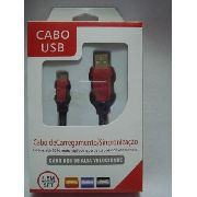Cabo Usb Fast Charger 1,5m Samsung S3 S4 S5 V8 Sync Micro
