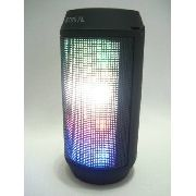 Caixa De Som Portátil Bluetooth Led