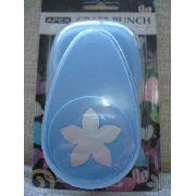 Furador Perfurador Flor 5 Petalas Corte 4cm