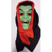 Mascara Vampiro Com Capuz Festa Fantasia Haloween