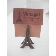 Clipe Prendedor De Papel Torre Eiffel