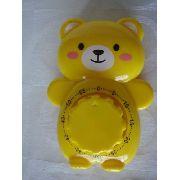 Timer Temporizador Amarelo Urso Cronometro Regressivo Bear