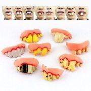 Pegadinha Dentadura Dente Deformado Prótese Dia Bruxas Fanta