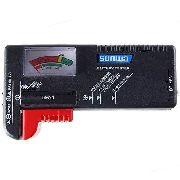 Testador De Pilhas E Baterias Normal Ou Recarregável Medidor