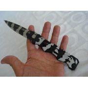 Canivete Faca Multiuso Camuflado Mundial Com Trava E Clip