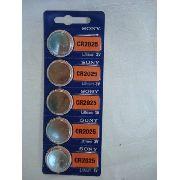 Bateria Sony Cr2025 Lithium 3v 5 Peças
