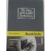 Cofre Livro Dicionario De Aço Para Joias Dinheiro