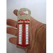 Abridor De Garrafa Cabine Telefone Londrino Vintage Londres
