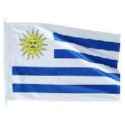 Bandeira Uruguai 1,5mx90cm Festas Decoração